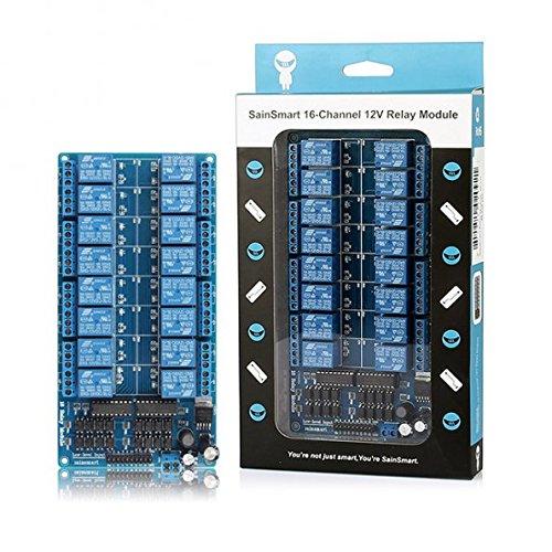 サインスマート(SainSmart) 16チャンネル 12V リレーモジュール for Arduino DSP AVR PIC ARM