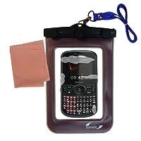 Gomadicアウトドア防水携帯ケースSuitable for the Pantech CAPERに使用Underwater–keepsデバイスClean and Dry