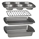 Best Bakewares - Ecolution Bakeins 4-Piece Toaster Oven Bakeware Set Review