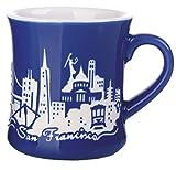 Best スターバックス電子レンジコーヒーカップ - エッチングDiner Mug 12オンス ブルー Review