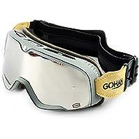 GOHAN ゴーグル レンズ バイク 原付き ジェット オフロード バイクゴーグル サバゲー モトクロス レース スキー…