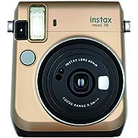 FUJIFILM インスタントカメラ チェキ instax mini 70 ゴールド INS MINI 70 GOLD