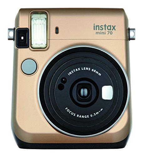 FUJIFILM インスタントカメラ チェキ instax mini70 ゴールド INS MINI 70 GOLD