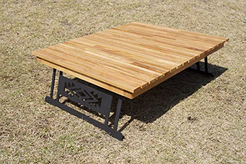 oak standard solo table CAMPOOPARTS オーク スタンダード 焚き火 ソロテーブル「納期約一ヶ月」キャンプ オーパーツ