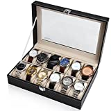 時計&ジュエリー通販専門店ランキング6位 Readaeer® 腕時計収納ケース 腕時計収納ボックス コレクションケース 12本用