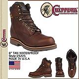 (チペワ)CHIPPEWA 25225 8 TAN 8インチ ワークブーツ タンウォータープルーフ Dワイズ EEワイズ (並行輸入品)
