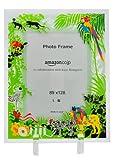 【Amazon.co.jp限定】Kayo Horaguchiコラボレーション グラスフォトフレーム(L版サイズ) グリーン