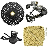 SunRace MZ 12-Speed Drivetrain Groupset MTB Kit 4 piece, Trigger Shifter #ST1759