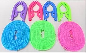 携帯 ハンガー(4個) ハンガーロープ(1本) セット