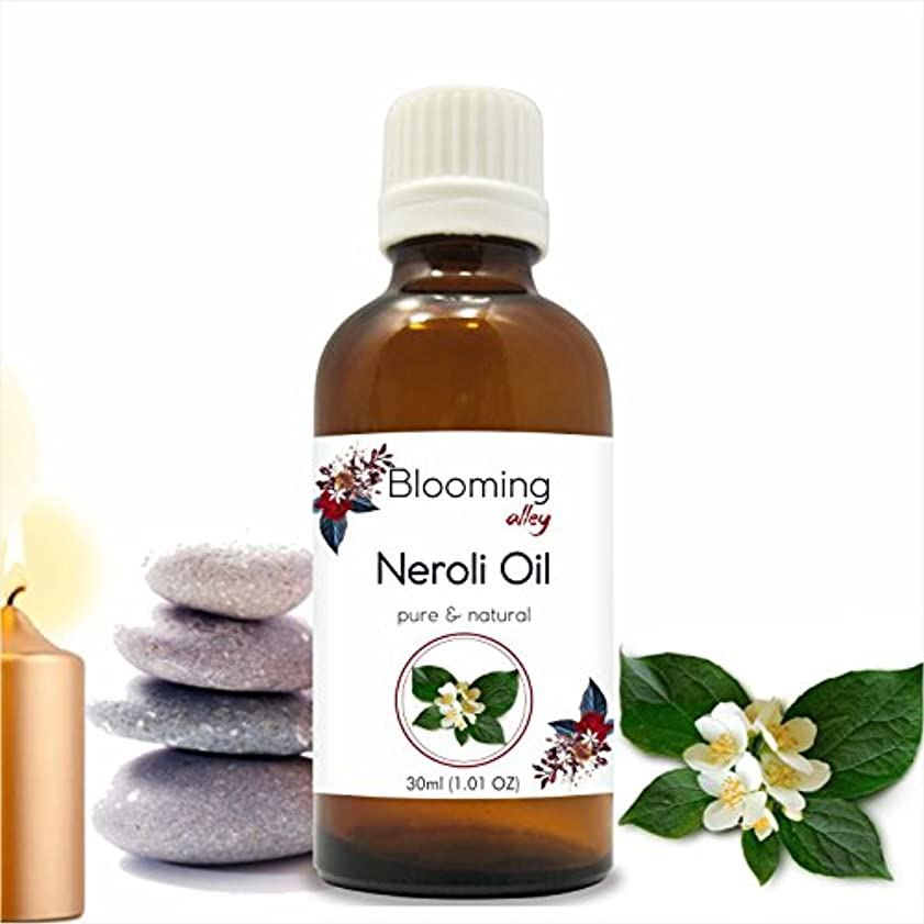 蒸気嫉妬グラフィックNeroli Oil (Citrus Aurantium) Essential Oil 30 ml or 1.0 Fl Oz by Blooming Alley