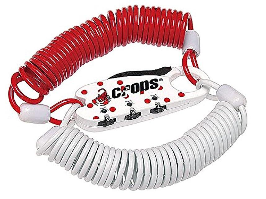 郡圧倒的無条件CROPS(クロップス) Q3 DUO ダイヤル式ケーブルロック ジャパン