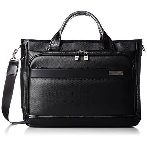 [バーマス] ビジネスバッグ ビジネストート MIJ A4対応 60037-10 BK ブラック