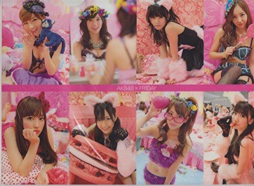 AKB48 公式グッズ クリアファイル AKB48 × FR...