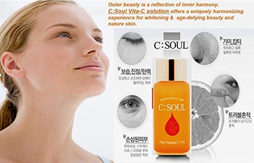 上級にぎやか無一文Vitaminc c serum (vitamin c 14% total solution) 15ml