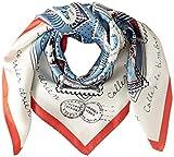 [ビームス デザイン] スカーフ シルク レッド レディース 50606502A 日本 64cm×64cm (FREE サイズ)