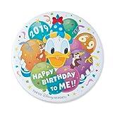 ドナルド・ダック 缶バッジ HAPPY BIRTHDAY TO ME! 2019 ディズニー グッズ お土産【東京ディズニーリゾート限定】