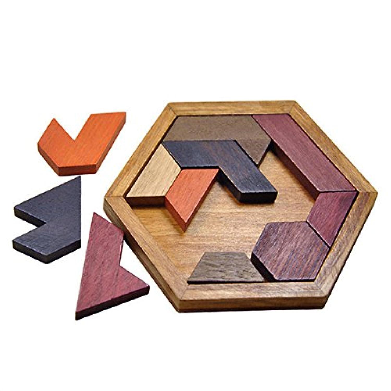 RUmfO子インテリジェンスJigsaw Toy Wisdom木製11 Tangramジグソーパズル教育玩具、子供に贈り物誕生日、クリスマス、イースター、