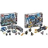 レゴ(LEGO) スーパー・ヒーローズ  アイアンマンのホール・オブ・アーマー 76125 ブロック おもちゃ 男の子 &  スーパー・ヒーローズ  キャプテン・アメリカ:アウトライダーの攻撃 76123 ブロック おもちゃ 男の子【セット買い】