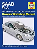 Saab 9-3 Petrol & Diesel Service and Repair Manual: 07-11 (Haynes Service and Repair Manuals)