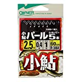 OWNER(オーナー) 小鮎パールシルバー5本 No.33464 3-0.6