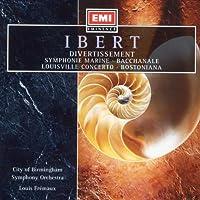 Ibert;Divertissment/Symphon