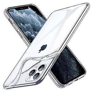 ESR iPhone 11 Pro ケース クリア ソフトケース アイホン 11 Pro カバー 薄型 透明TPU【指紋防止 黄変防止 衝撃吸収 耐傷性 安心保護 軽量 Qi急速充電対応】 5.8インチ iPhone 11 Pro 專用スマホケース(クリア)