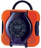 TWINBIRD 防水CDプレーヤー CD ZABADY オレンジ AV-J165OR