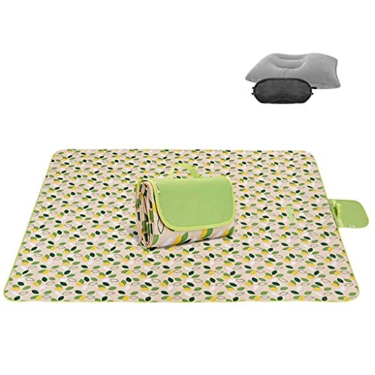 すなわち精巧な時オックスフォード布ピクニック毛布折りたたみ屋外ビーチマットピクニックマット防水砂防公園毛布家族の日中、旅行 (Size : 195*200cm)
