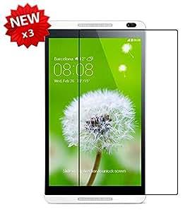 【3枚パック】【ShineZone】Huawei MediaPad M1 8.0  液晶保護フィルム 高光沢 指紋防止 気泡レス 反射防止タイプ
