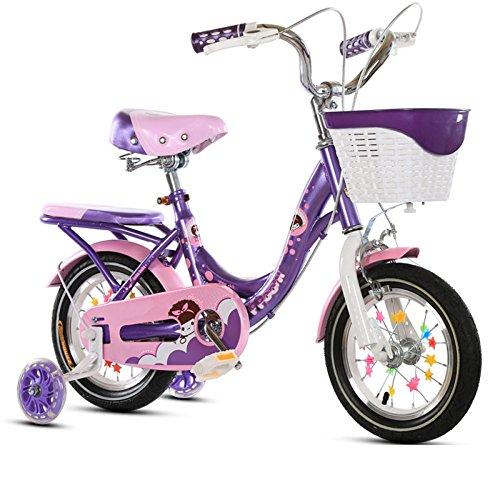 QXmEi子供の自転車高炭素鋼フレーム12/14/16...