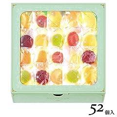 【スイーツ ギフト】西洋菓子鹿鳴館 フルーツゼリー 恵みのしずく 52個入(手土産 お菓子)