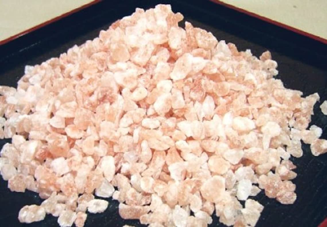 糞対応発信ヒマラヤ岩塩 バスソルト ゆっくり溶ける粗粒タイプ 500g×5パック