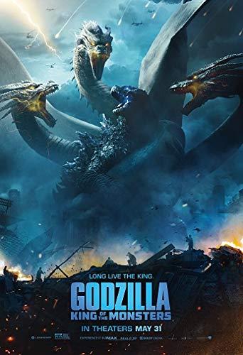 映画ポスター ゴジラ キングオブモンスターズ Godzilla King of the Monsters US版 hi6 [並行輸入品]