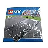 レゴ (LEGO) シティ ロードプレート 直線+交差点(2枚入り) 7280