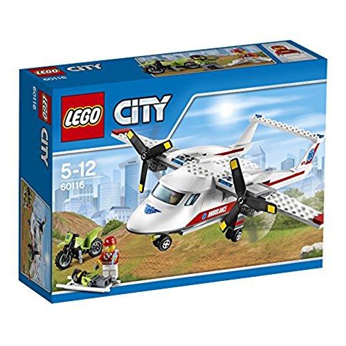 レゴ (LEGO) シティ 救急飛行機 60116