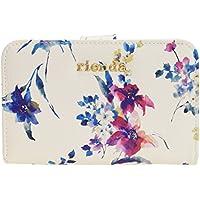 (リエンダ) rienda 財布 二つ折り コンパクト 合成皮革 花柄 r03708211 当店限定