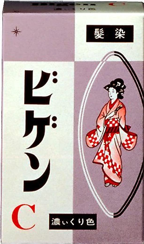 シアー続ける千ホーユー ビゲン C (濃い栗色) 6g ×6個