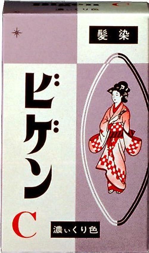 バラ色変な時折ホーユー ビゲン C (濃い栗色) 6g ×6個