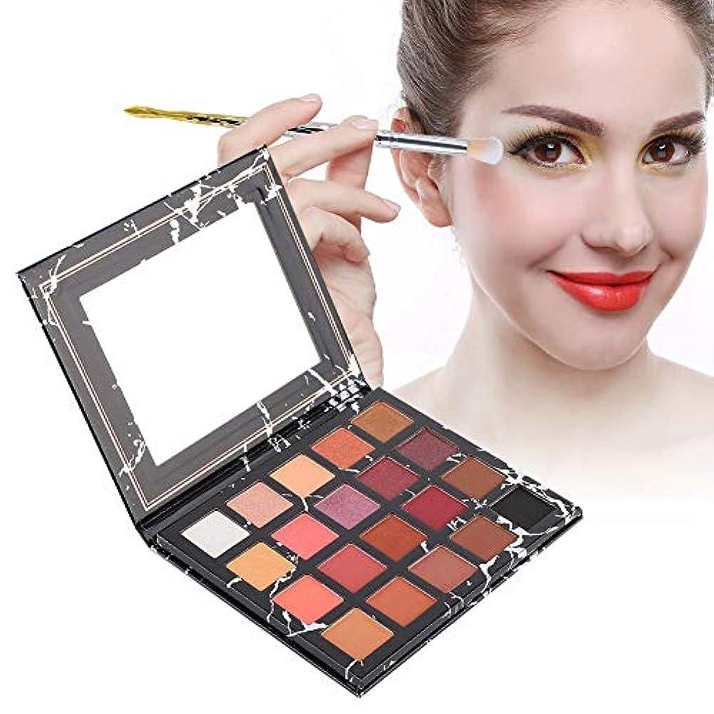 気がついていくつかの形成アイシャドウパレット 20色 アイシャドウパレット 化粧マット グロス アイシャドウパウダー 化粧品ツール