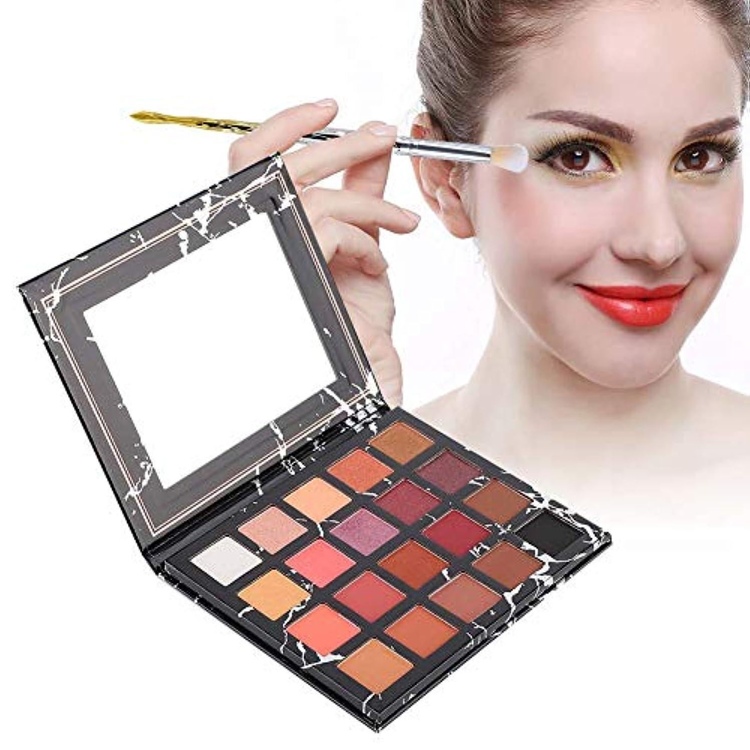 アイシャドウパレット 20色 アイシャドウパレット 化粧マット グロス アイシャドウパウダー 化粧品ツール
