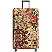 Janjunsi Luggage Cover (Cover ONLY) Fits 18-32 Inches Size S/M/L/XL Trolley case - Suitcase Cover Protector Against Dirt Scratch