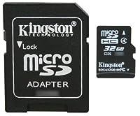 ProfessionalキングストンMicroSDHC 32GB ( 32Gigabyte )カードfor Samsungクロノ電話電話withカスタム書式と標準SDアダプタ。( SDHCクラス4認定)