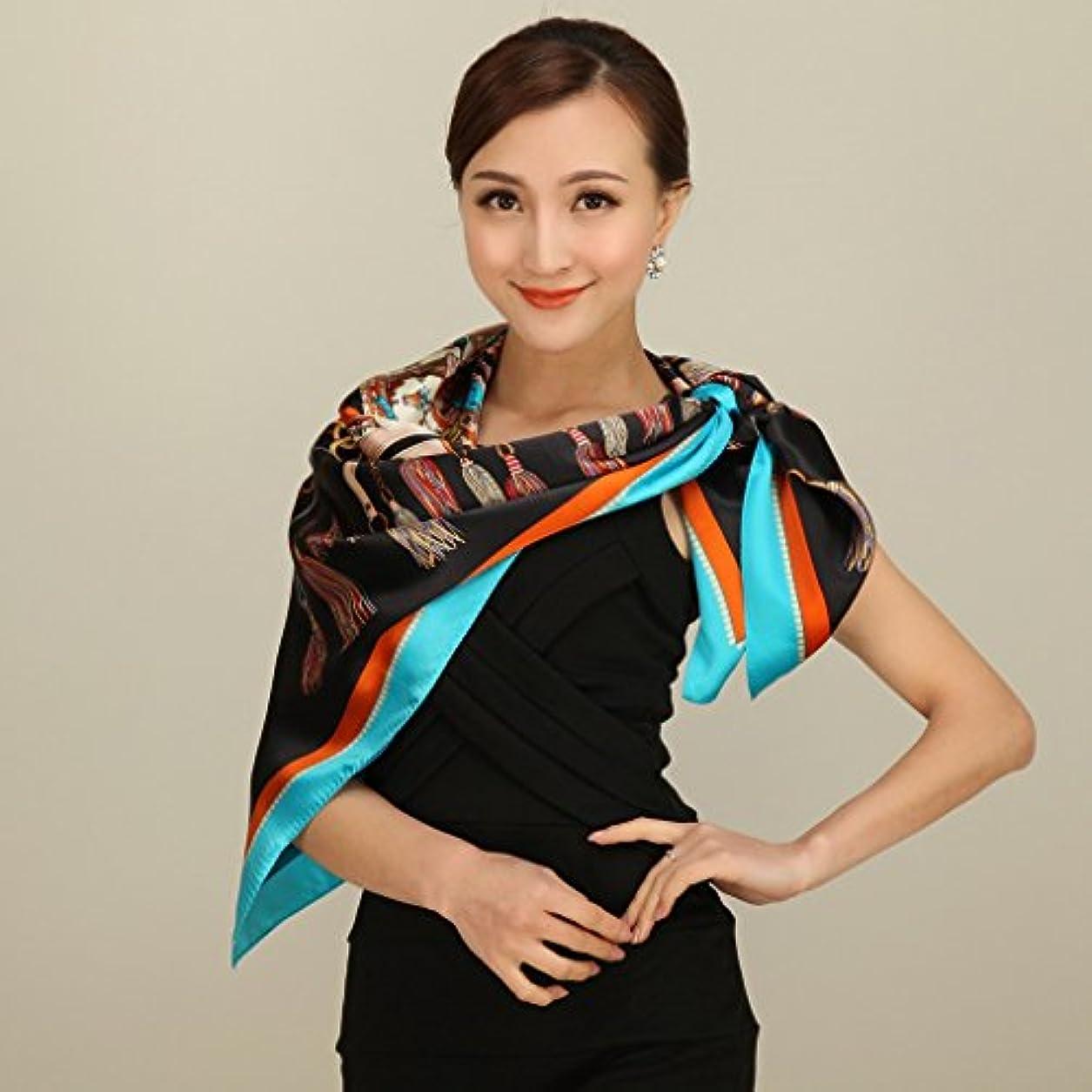 悲劇的な資格マインドGAODUZI 春と秋の女性エレガントな重いシルクのスカーフ