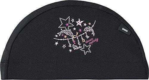 [해외]arena (아레나) 수영 모자 수영 용 섬유 캡 ARN-7421 F/arena (Arena) Swim cap Swimming textile cap ARN - 7421 F