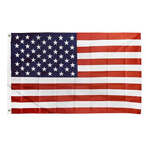 国旗 アメリカ 星条旗 150㎝×90㎝ 大きいサイズ USA フラッグ スポーツ 運動会 イベンド インテリア コスプレ 小物 道具