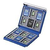 サンワサプライ SD microSDカードケース 24枚収納 ブルー FC-MMC4BL