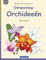 Brockhausen Kleurboek Vol. 1 - Ontspanning: Orchideeën: Kleurboek