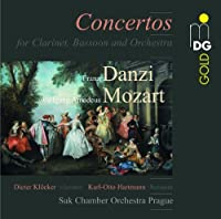 Danzi & Mozart: Concertos for Clarinet, Bassoon & Orchestra (2013-06-18)