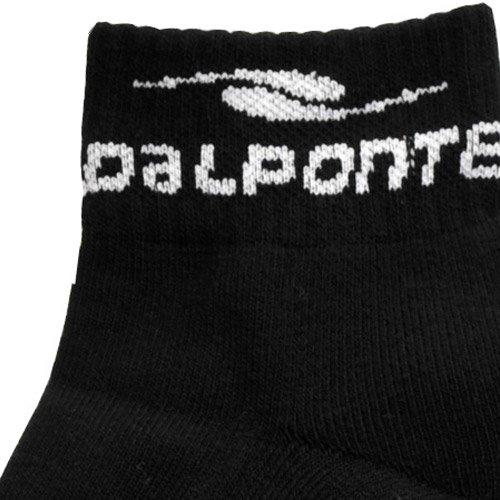DALPONTE(ダウポンチ) ベリーショートソックス ブラック 25-27 DPZ71-BLK ブラック 25-27