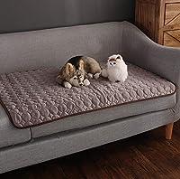 Clluzu 犬マットペットソファクッションスポット卸売猫クールパッドアイスシルクコールドフィールマット夏の子犬犬小屋